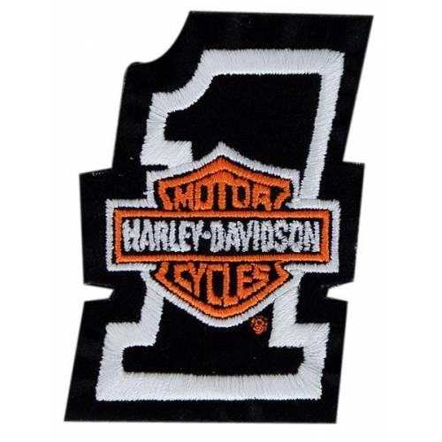 Patch Number One Bar & Shield Harley-Davidson