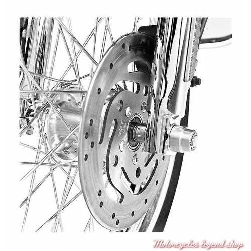 Entretoises de roue avant Harley-Davidson chromés, visuel, 41597-00