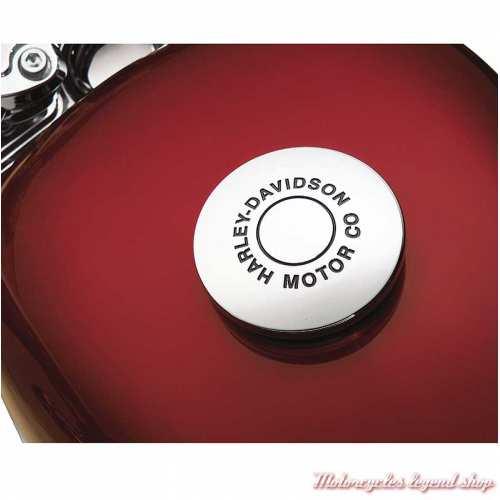 Medaillon de bouchon de réservoir Motor Co Harley-Davidson, chromé, visuel, 99666-04