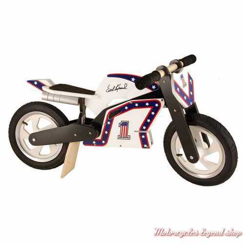 Draisienne Heroes Knievel Kiddimoto, enfant 2-6 ans, bois, 916-326