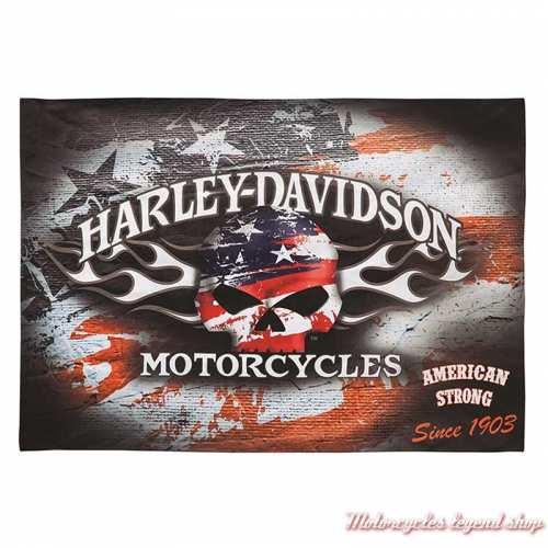 Drapeau décoratif Americana Harley-Davidson