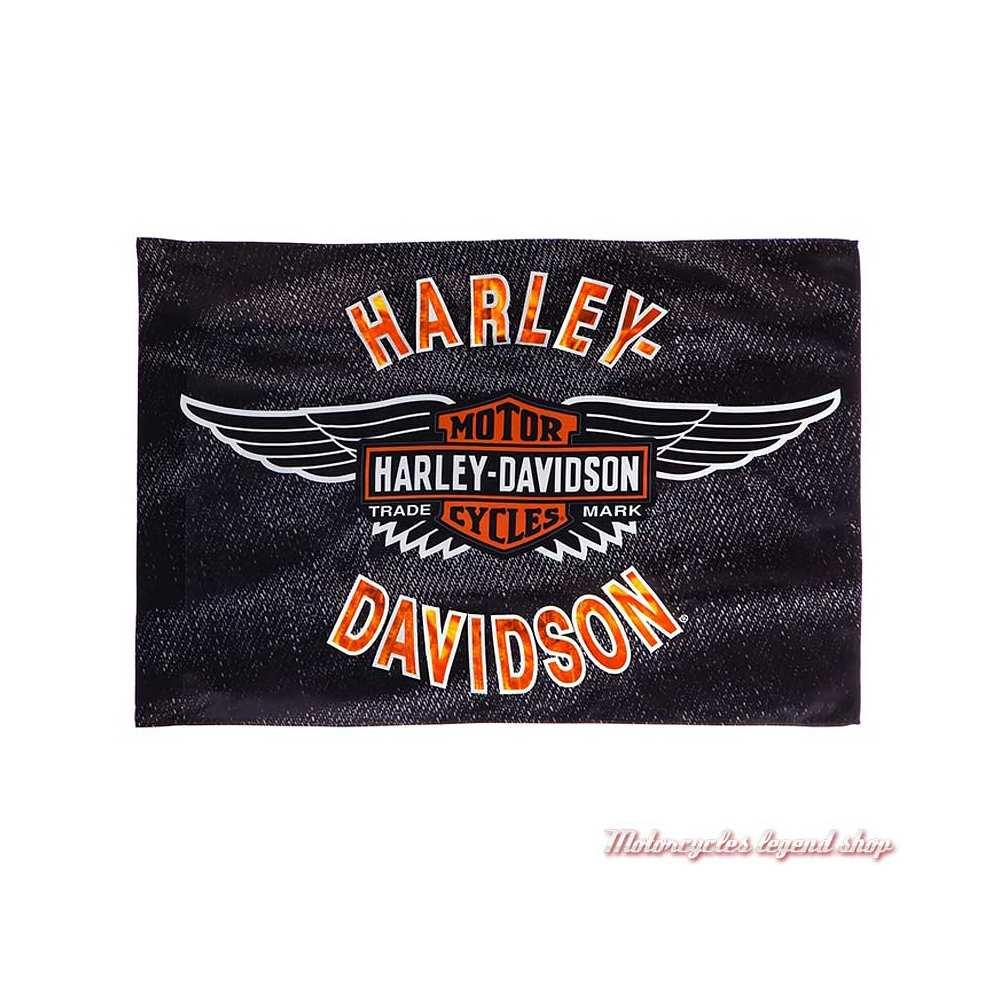 Drapeau décoratif Vintage Wings Harley-Davidson 17S4918