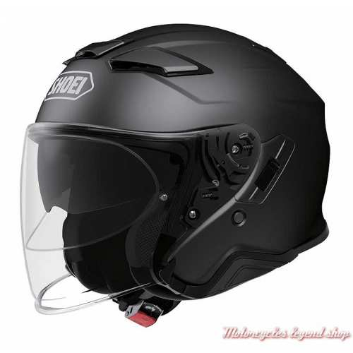 Casque jet J-Cruise II noir Mat Shoei