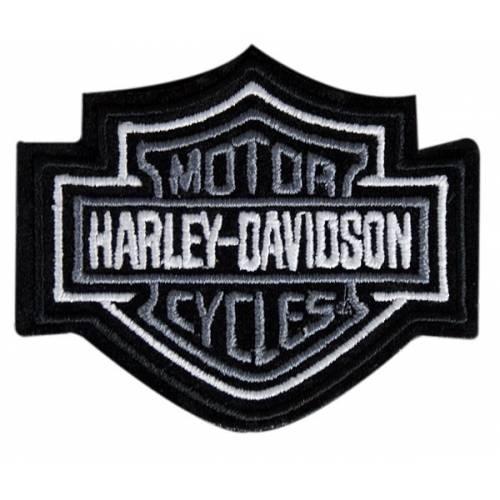 Patch Bar & Shield gris Harley-Davidson