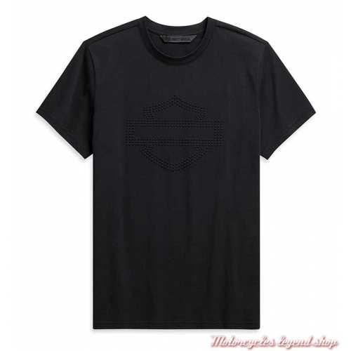 Tee-shirt Embossed Logo Harley-Davidson homme