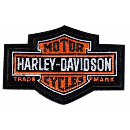 Patch Bar & Shield Antique, vintage, brodé, petit modèle, Harley-Davidson EMB312382