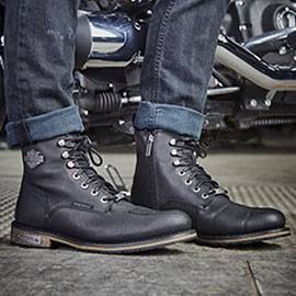 harley davidson chaussures bottes motos pour hommes et. Black Bedroom Furniture Sets. Home Design Ideas