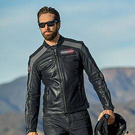 51780ee63658 Blousons cuir homme Harley-Davidson - Triumph - Motorcycles Legend shop